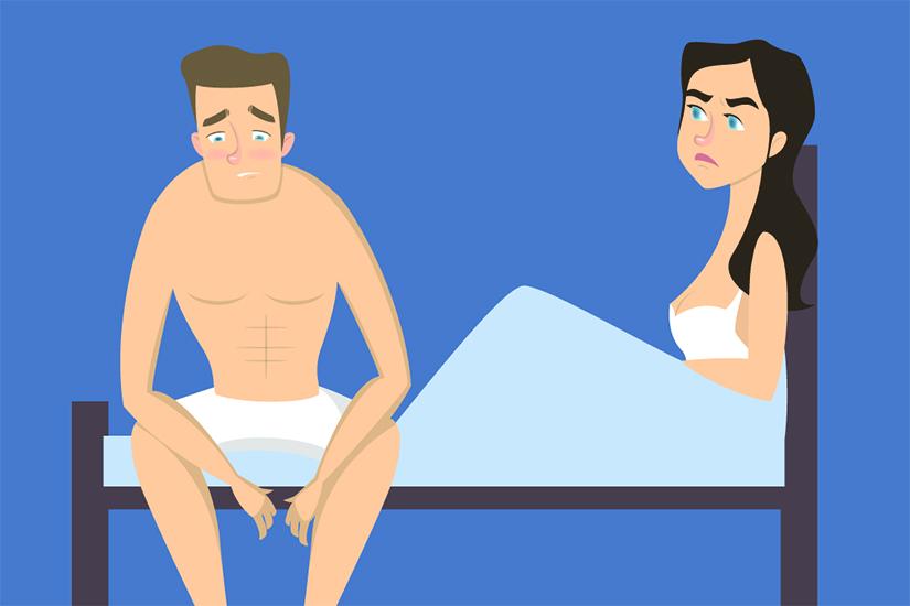 erecția frecventă interferează
