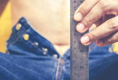 măsurați corect lungimea penisului ulei de cătină pentru penis