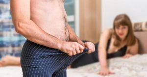 în timpul unei erecții testicule mărirea și potența penisului
