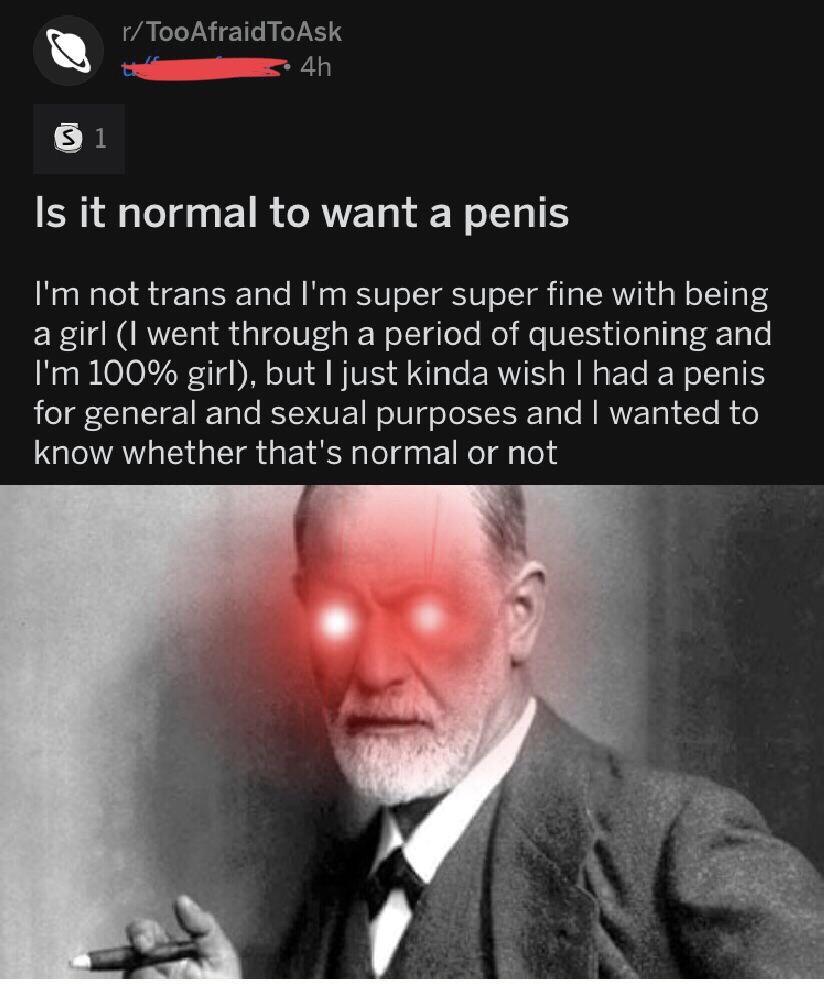 Freud Penis Envy