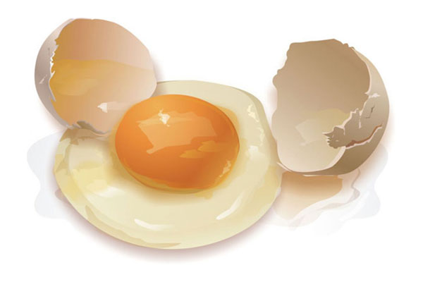 ouă crude și erecție